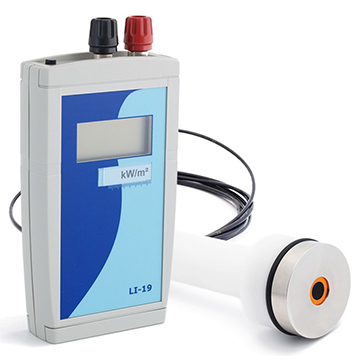 HF03-LI19 Portable heat flux sensor, with read-out unit / datalogger